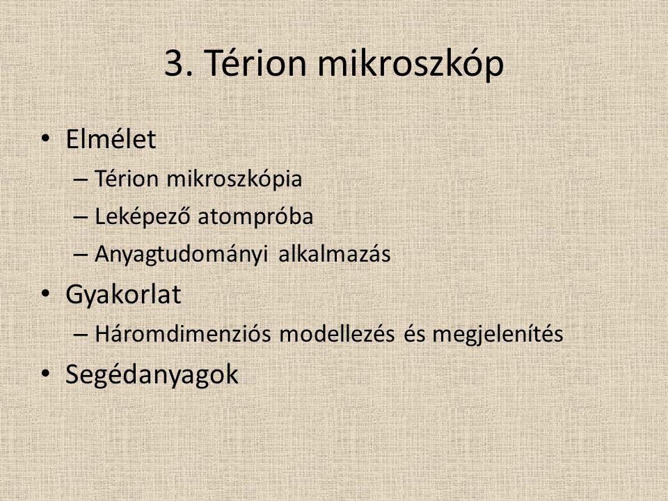 Térion mikroszkópia
