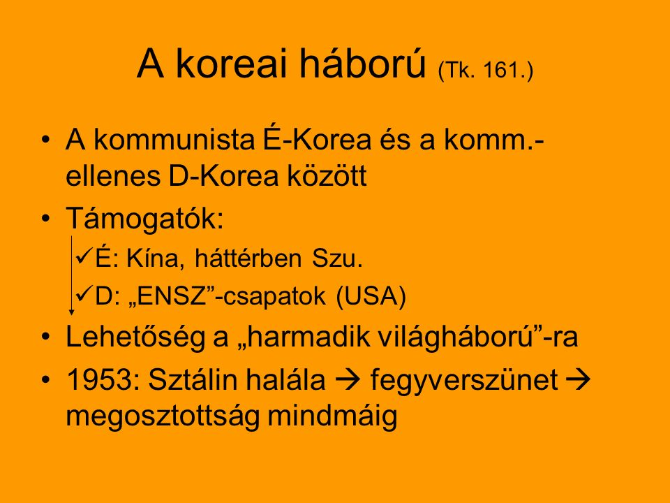 A koreai háború (Tk.