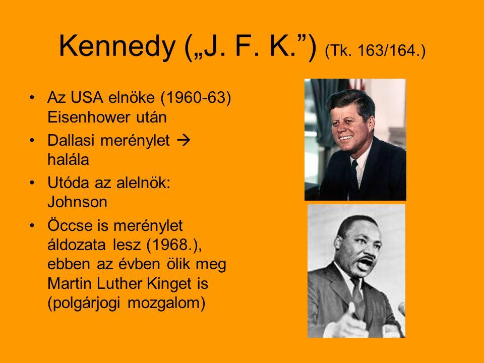 "Kennedy (""J.F. K. ) (Tk."