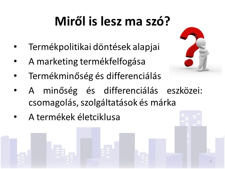 A piaci ajánlat összetevői Értéken alapuló árak Vonzó piaci ajánlat Termék sajátosságok Szolgáltatások, és minőség választék 3