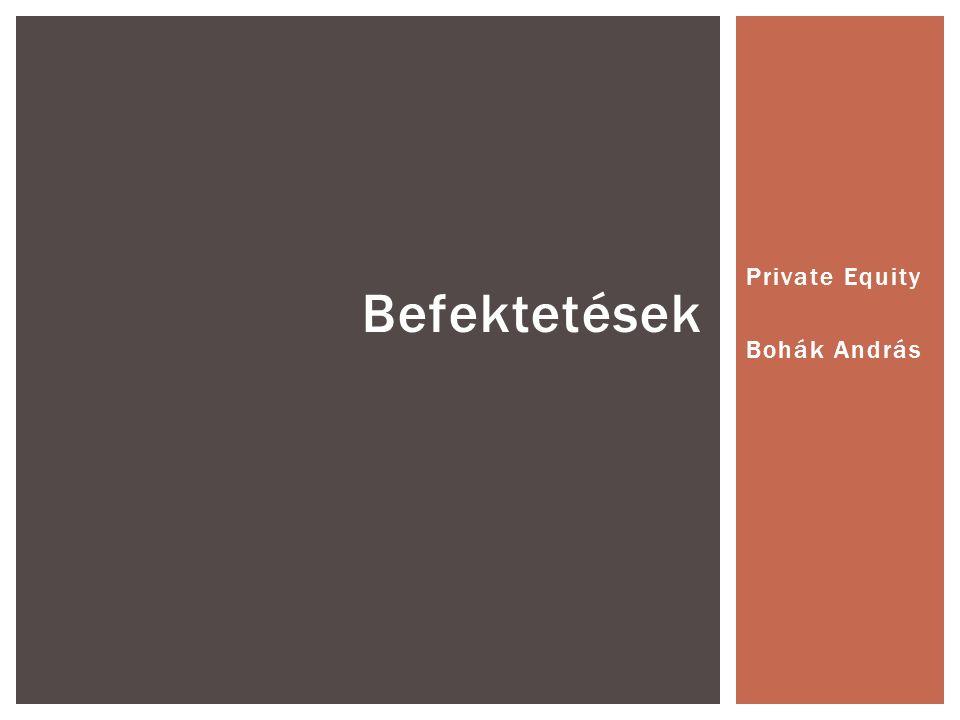 Private Equity Bohák András Befektetések