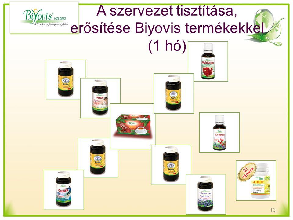 A szervezet tisztítása, erősítése Biyovis termékekkel (1 hó) 13