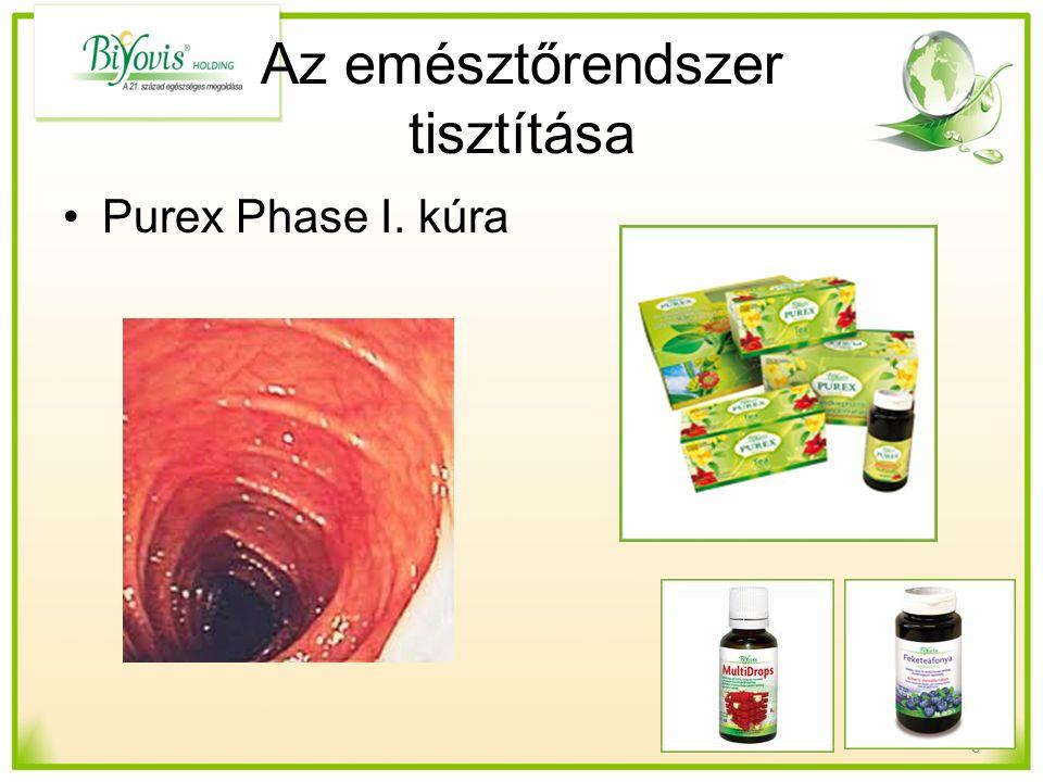 Az emésztőrendszer tisztítása Purex Phase I. kúra 9