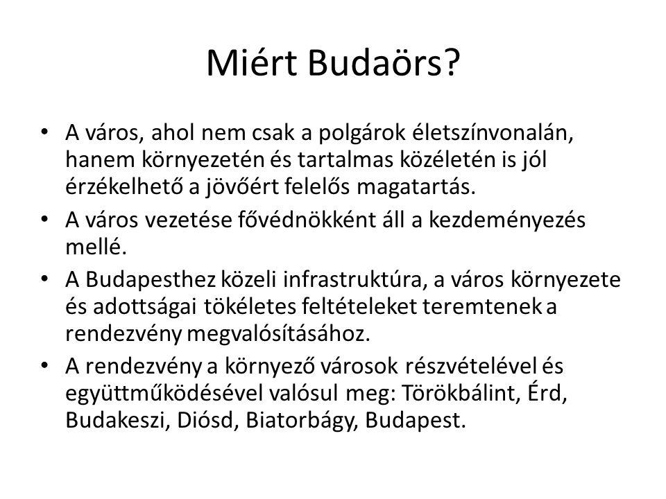 Miért Budaörs.