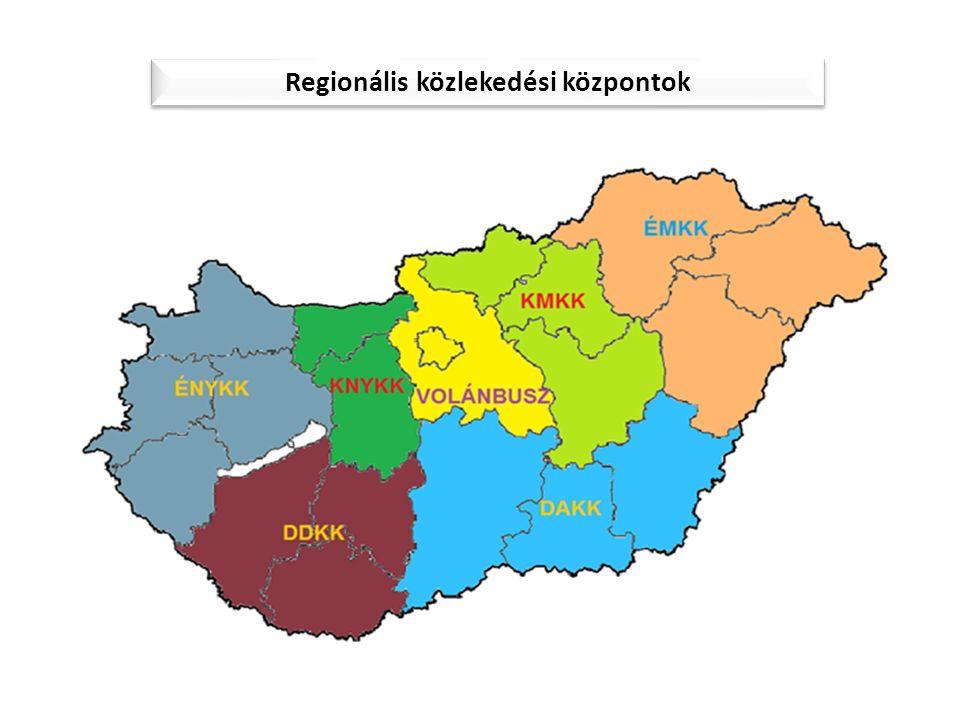 Regionális közlekedési központok