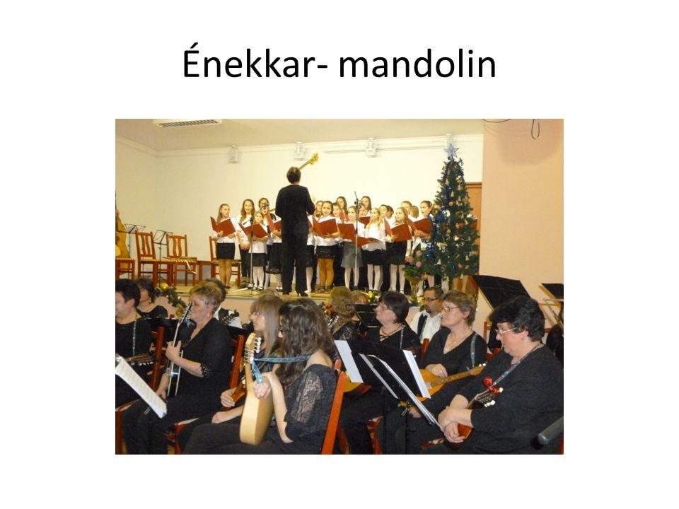 Énekkar- mandolin