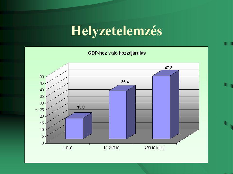 Vállalkozói környezet Magas a munkát terhelő adó- és járulékteher az EU 27 átlagához képest Magyarországon: –munkajövedelem adóterhe: +4% –fogyasztás adókulcsa: +7% Alacsony a foglalkoztatottság - magas az inaktivitás