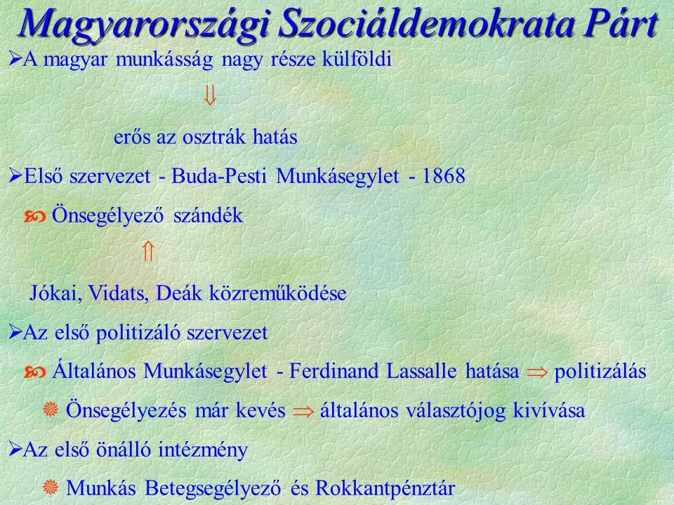 """ Tisza politikája - """"az ország biztonsága mindenek fölött  A dualizmus fenntartása fontos  A magyar hegemónia törékeny  OMM nélkül nincs Szent Istváni Mo."""