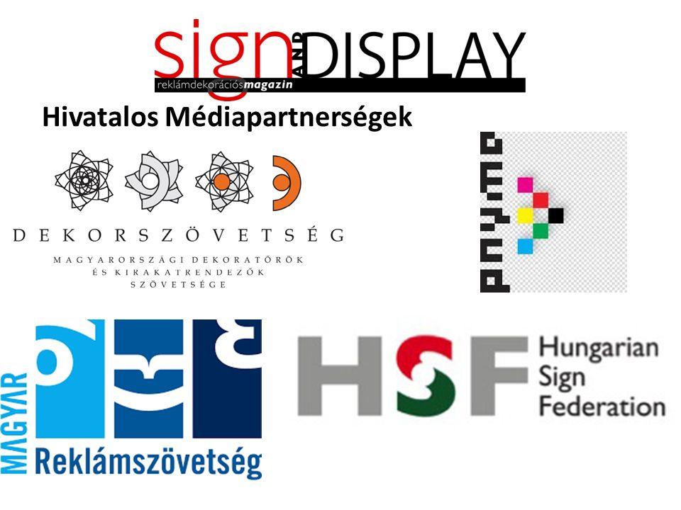 Hivatalos Médiapartnerségek
