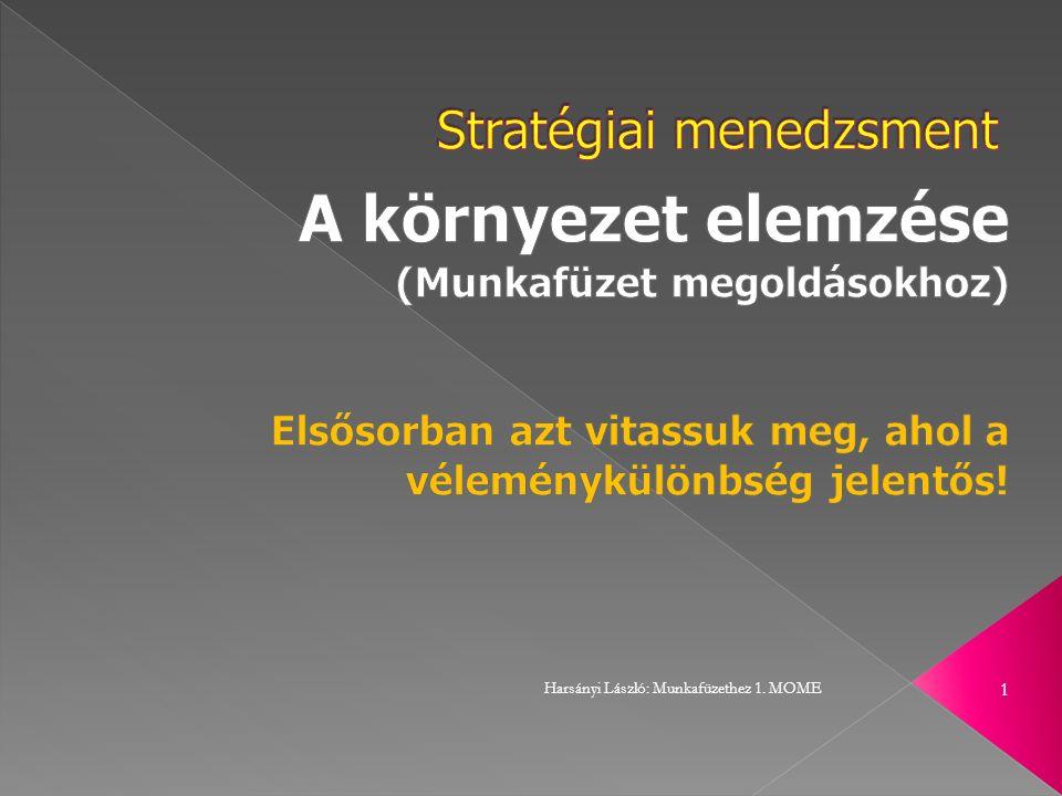 Harsányi László: Munkafüzethez 1. MOME 1