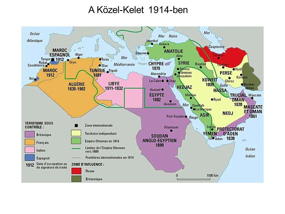 A Közel-Kelet 1914-ben