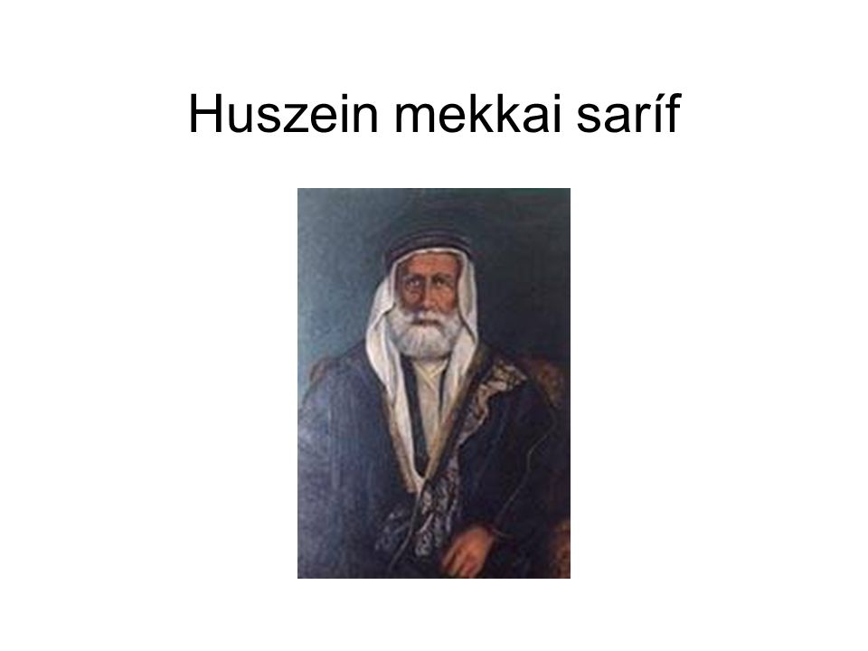 Huszein mekkai saríf