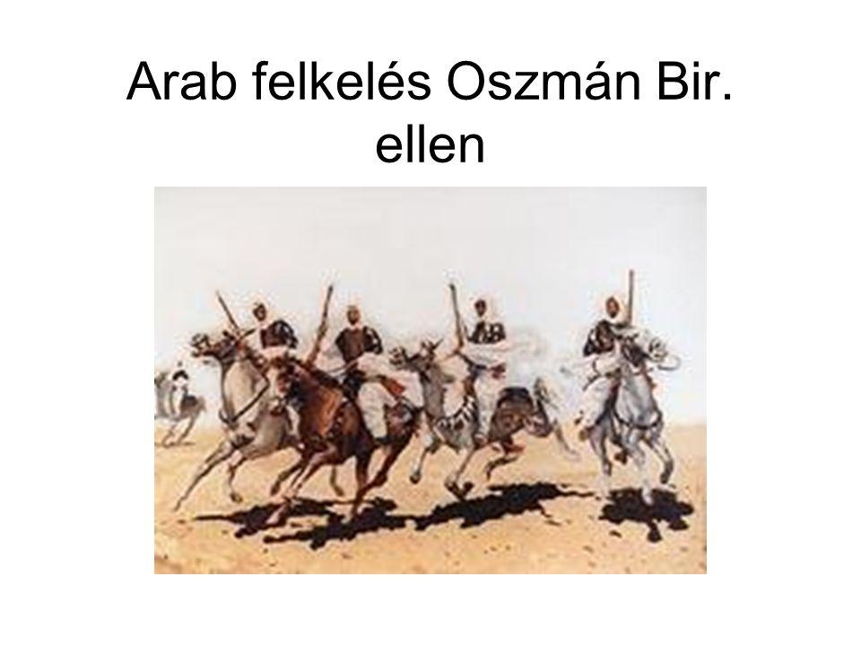 Arab felkelés Oszmán Bir. ellen