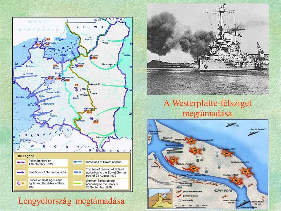 Lengyelország megtámadása A Westerplatte-félsziget megtámadása
