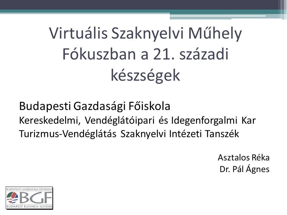 Virtuális Szaknyelvi Műhely Fókuszban a 21.