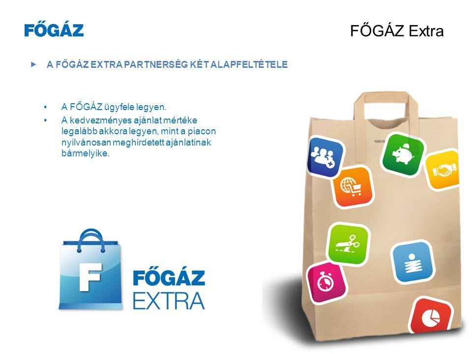 FŐGÁZ Extra  ELŐNY A FŐGÁZ-NÁL IS… Egy lojalitásprogram a B2B és a B2C szegmensnek.