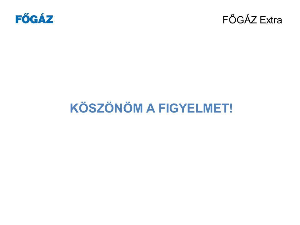 FŐGÁZ Extra  MARKETING KOMMUNIKÁCIÓS TÁMOGATÁS E-h írlevelek heti rendszerességgel www.fogaz.hu Online ügyfélszolgálaton bannerek, promóciók Folyamatos megjelenés a számlán és a számlaborítékon Számla melletti hírlevél megjelenések FŐGÁZ Magazin Dolgozói promóciók