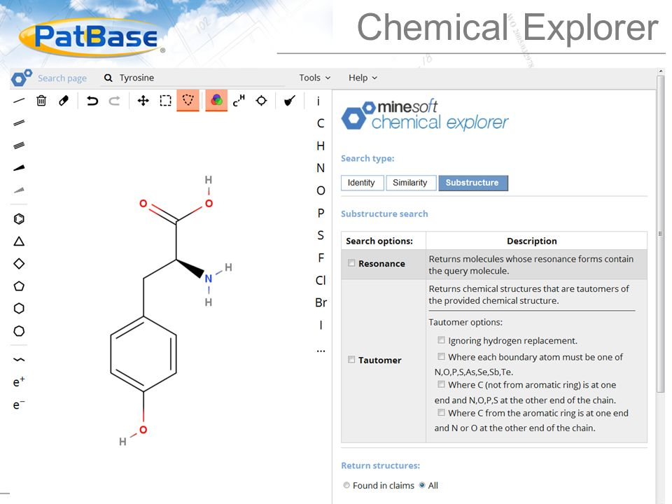 Chemical Explorer