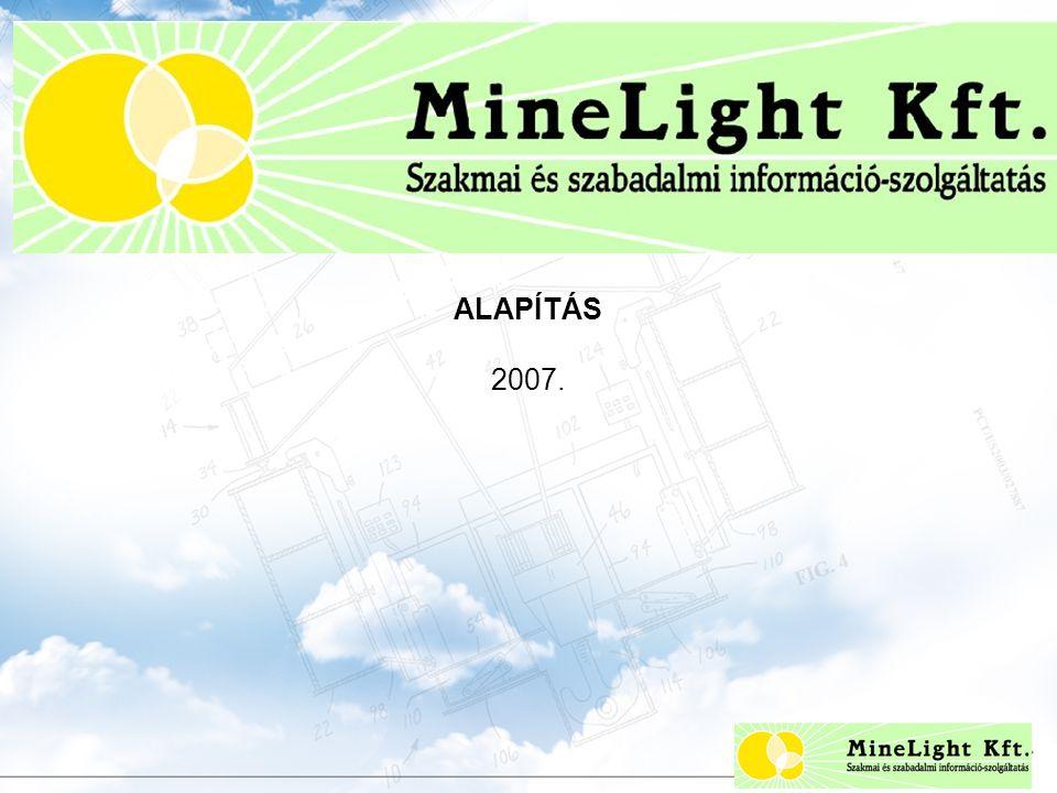ALAPÍTÁS 2007. Szabadalmi információ