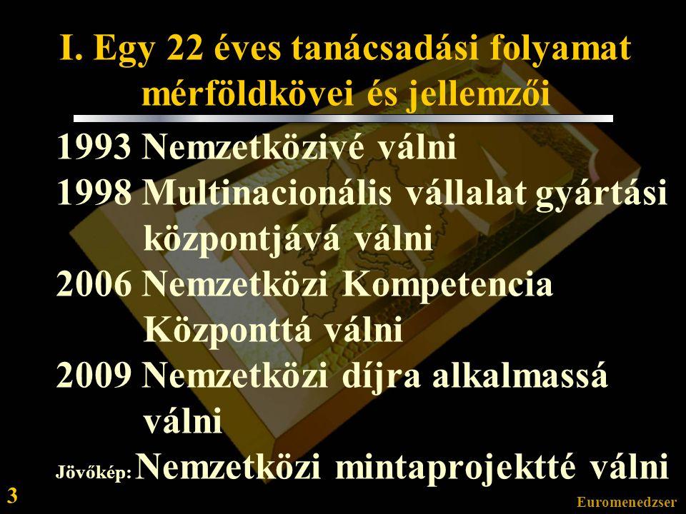 Euromenedzser 13 Köszönöm megtisztelő figyelmét.