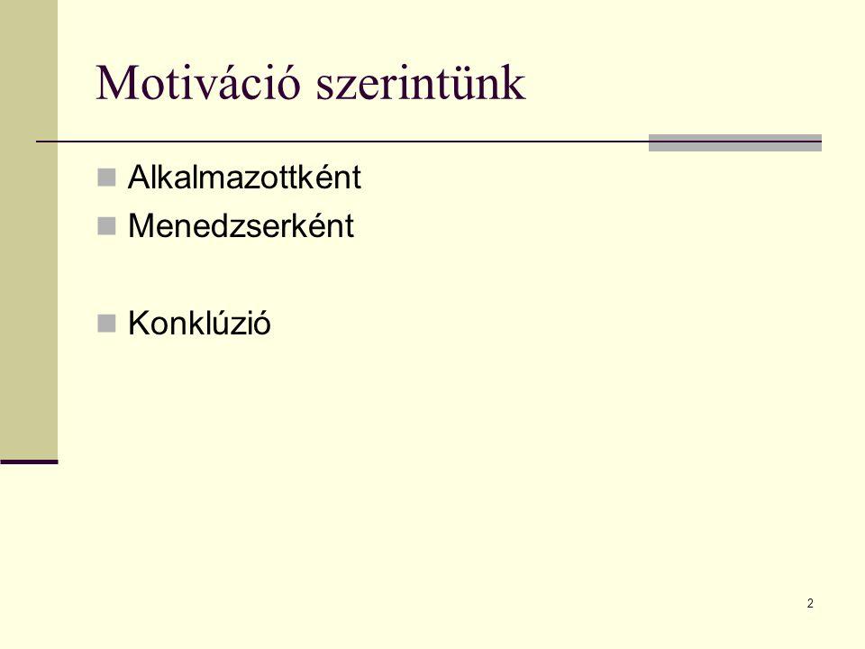 3 A motiváció fogalma – 1.