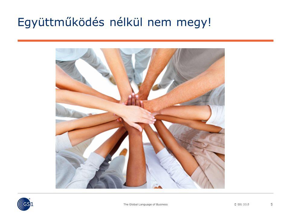 © GS1 2015 Együttműködés nélkül nem megy! 5