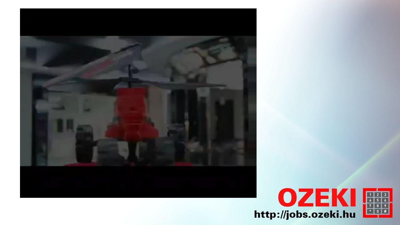 Áttekintés Hubsan X4 Parrot AR Drone 2 Megoldatlan problémák Üzleti felhasználás Drónok az OZEKI-ben
