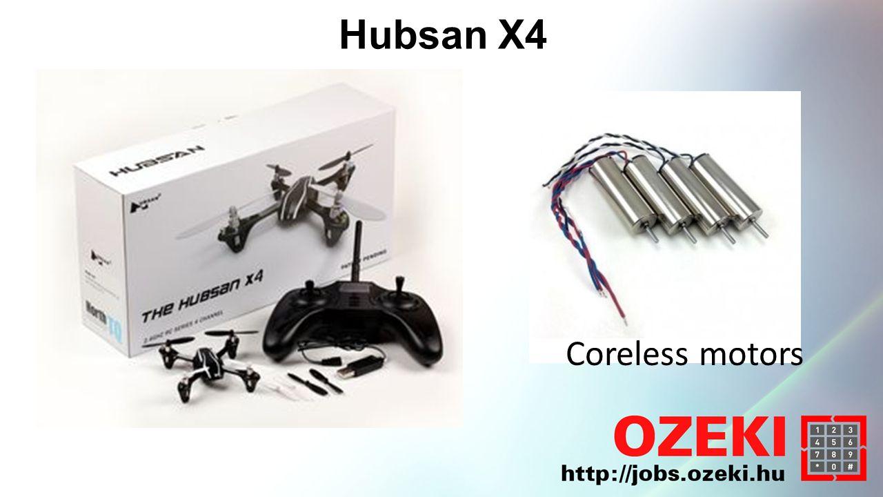 Hubsan X4 - Felépítés