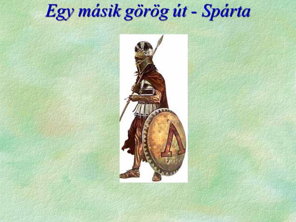 A spártai életmód belesűrítve egyetlen képbe