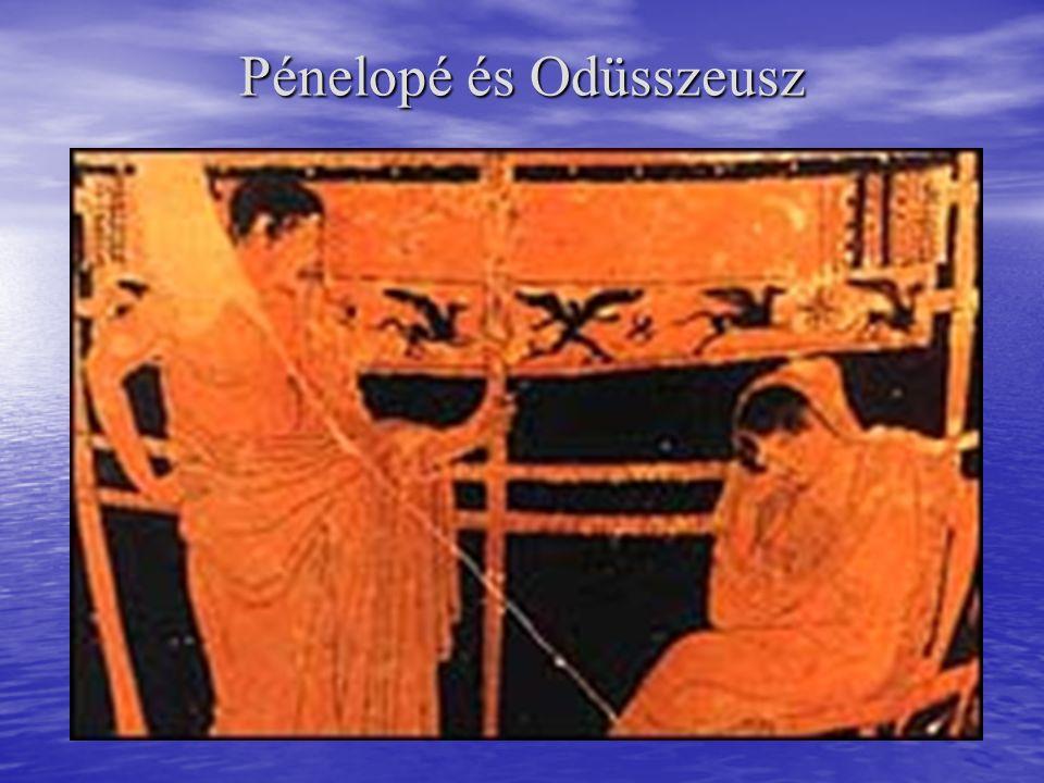 Pénelopé és Odüsszeusz