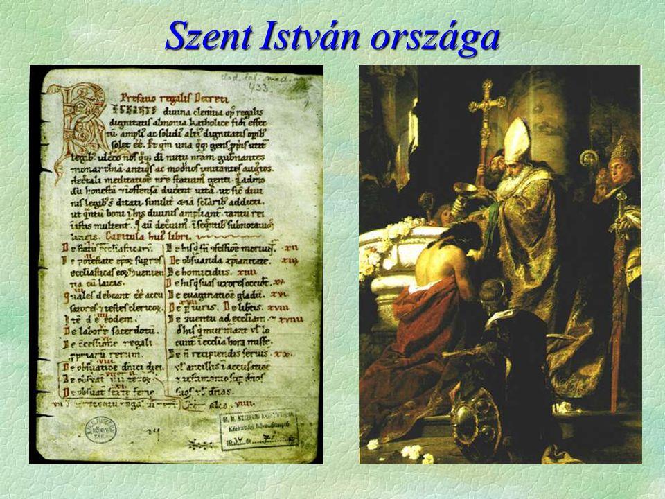 Szent István országa