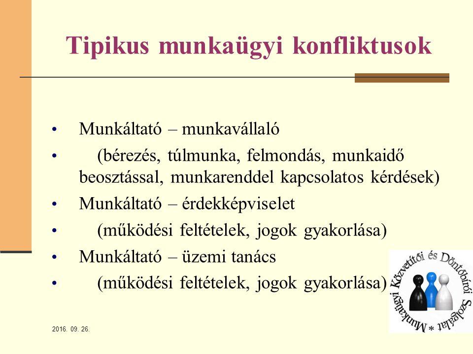 2016.09. 26. 5 Az MKDSZ tanácsadási tevékenysége Mikor kerül sor tanácsadásra.