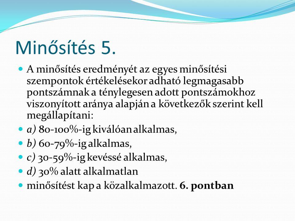 Minősítés 5.