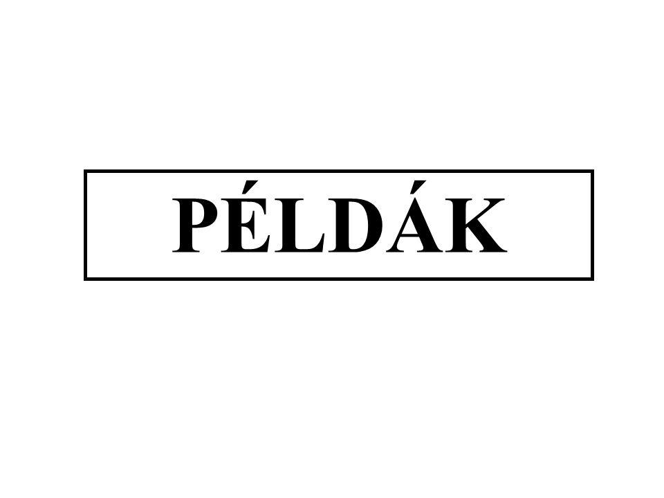PÉLDÁK