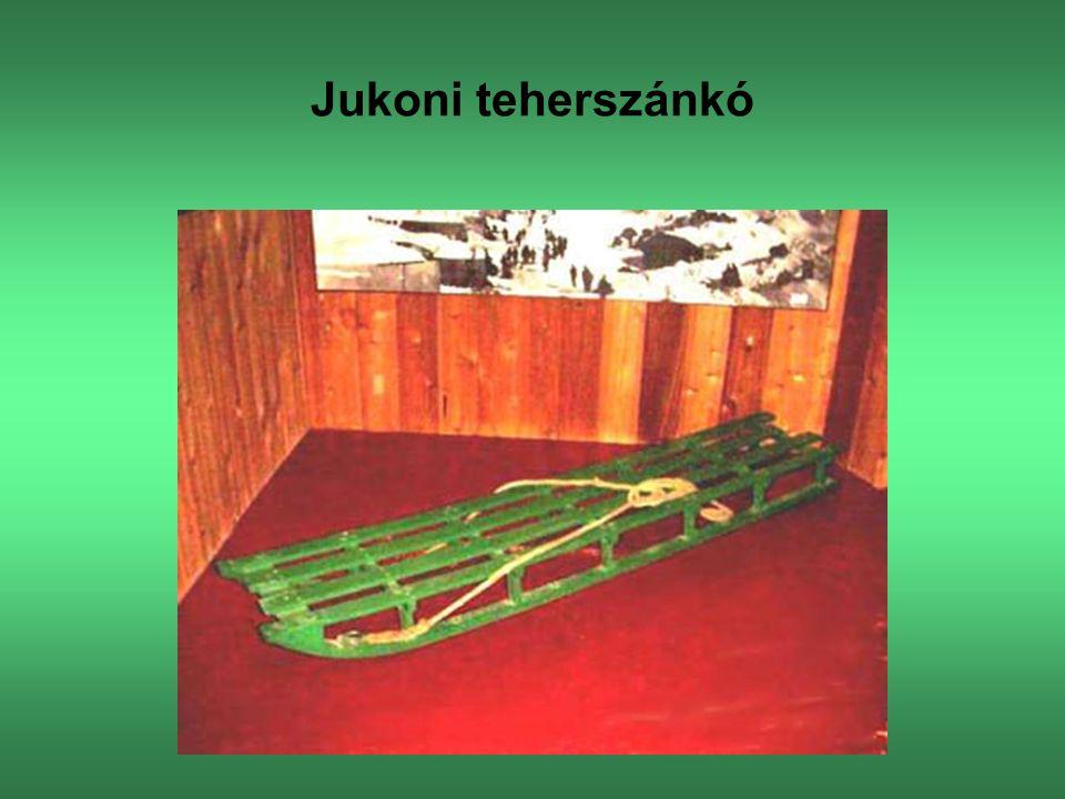 Jukoni teherszánkó