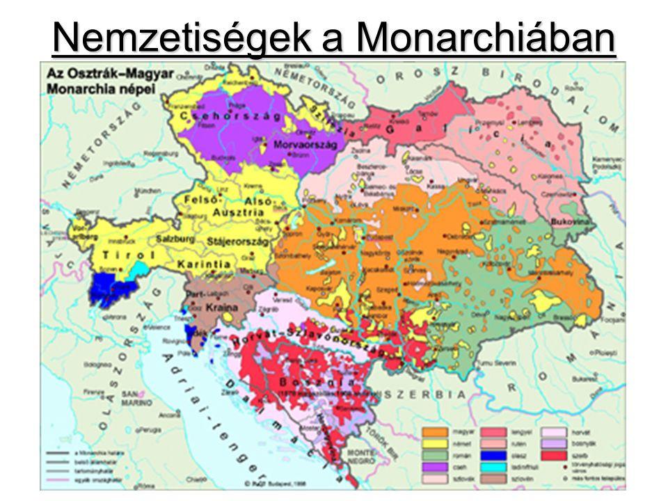 Nemzetiségek a Monarchiában