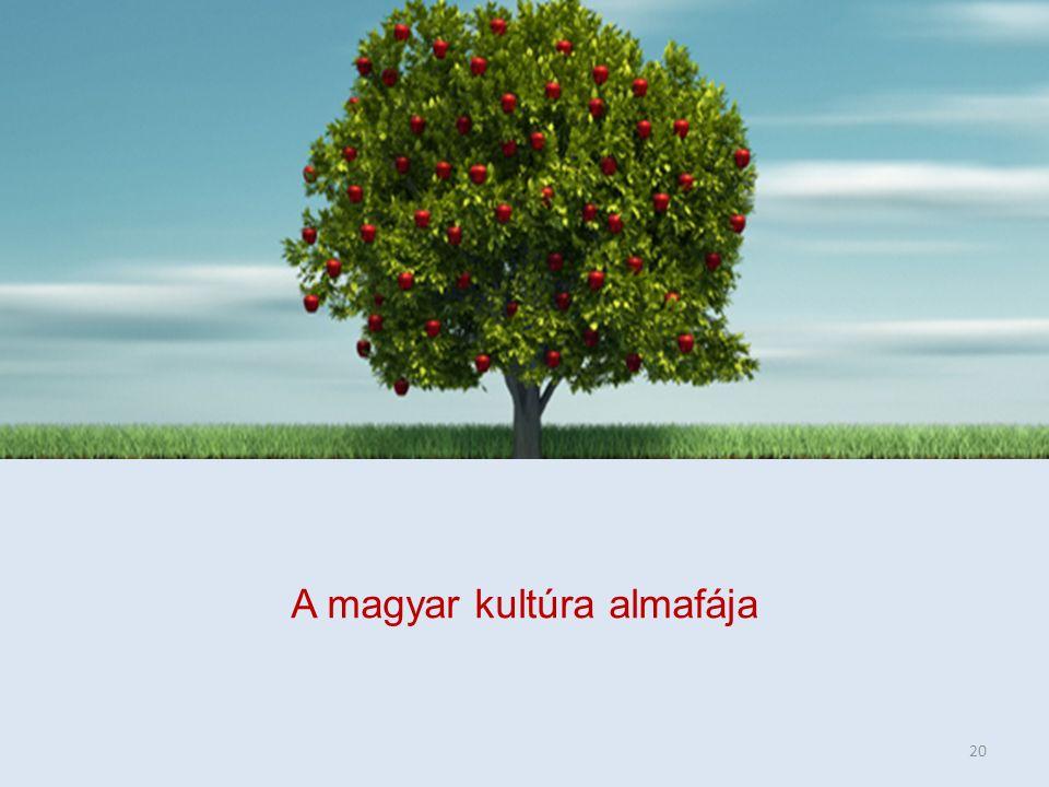 A magyar kultúra almafája 20
