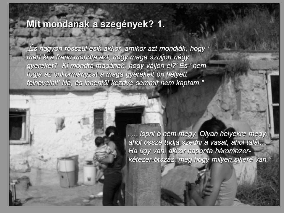24 Mit mondanak a szegények. 1.