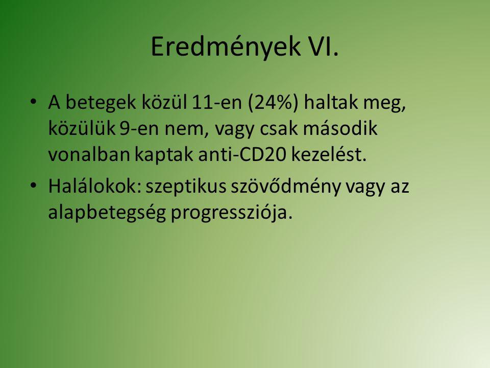 Eredmények VI.
