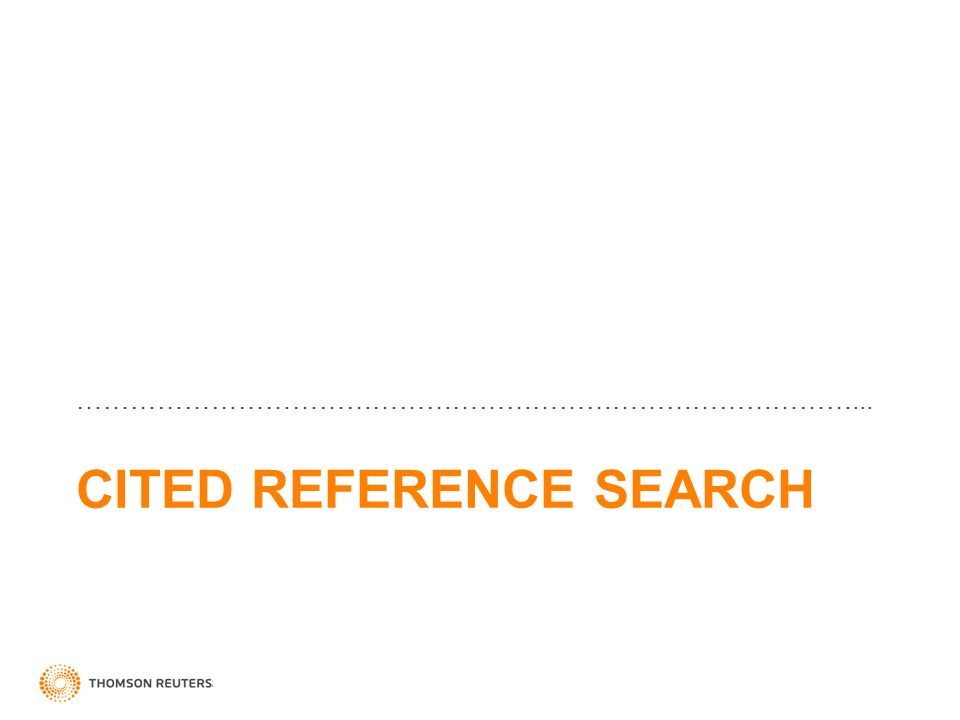 CITED REFERENCE SEARCH ……………………………………………………………………………...