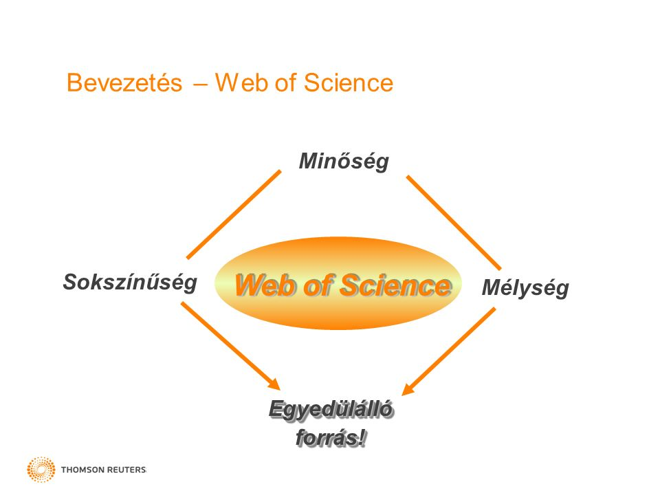 Web of Science Subject Category keresés