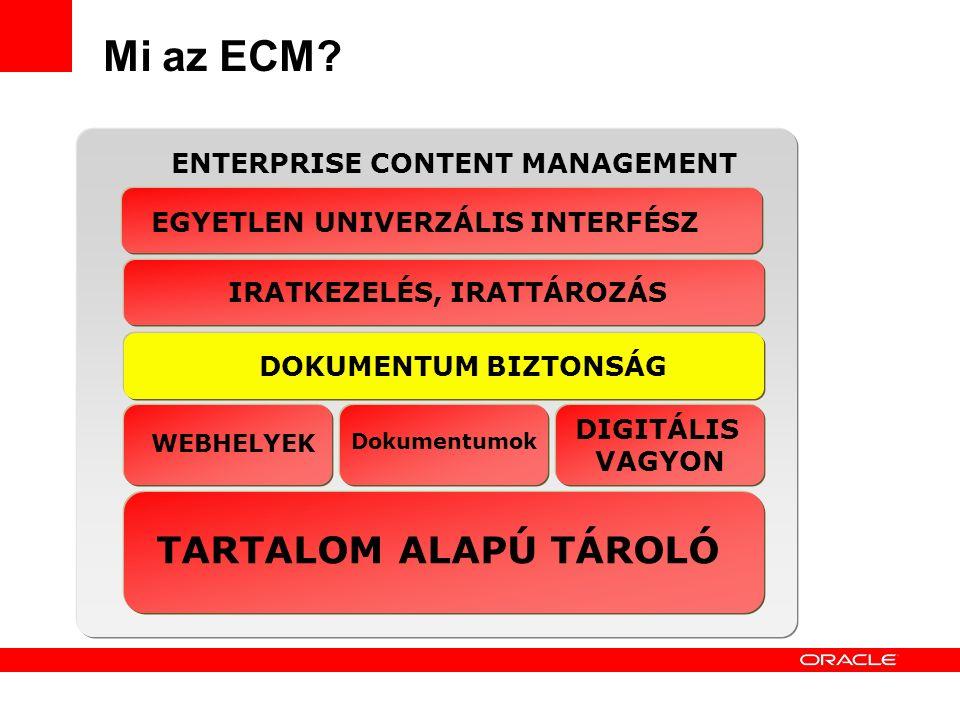 13 Mi az ECM.