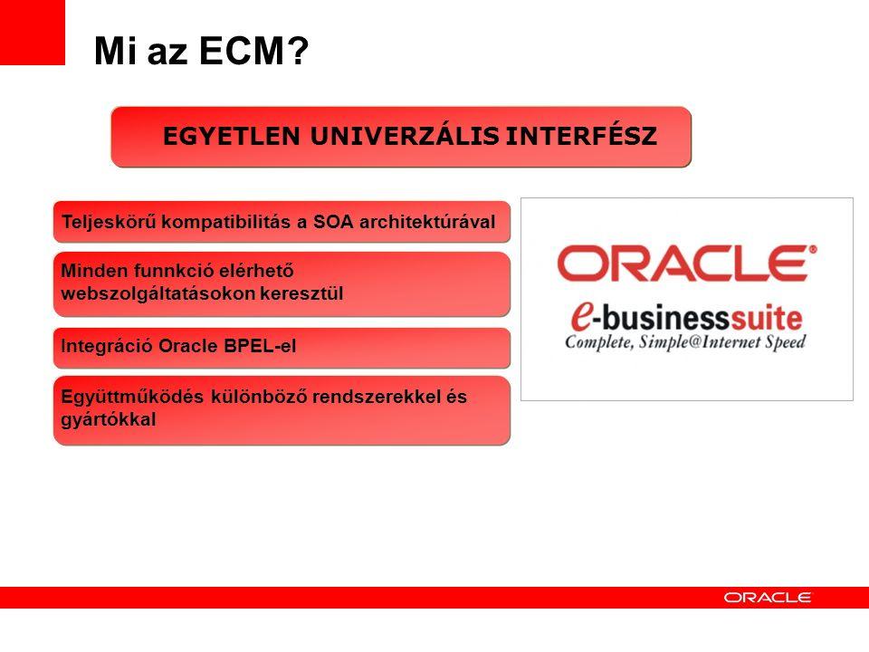 Mi az ECM.