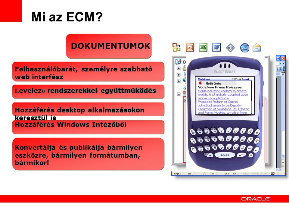 9 Mi az ECM.