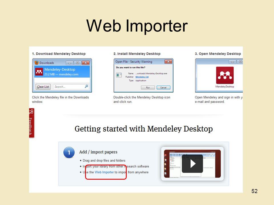 Web Importer 52