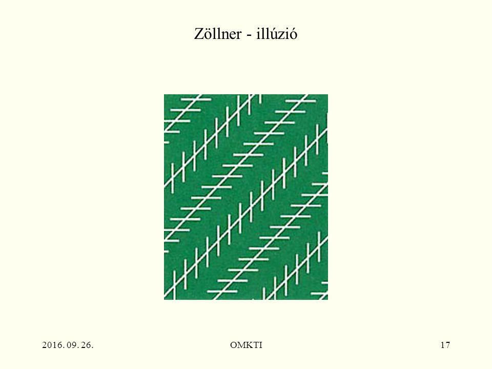 2016. 09. 26.OMKTI17 Zöllner - illúzió