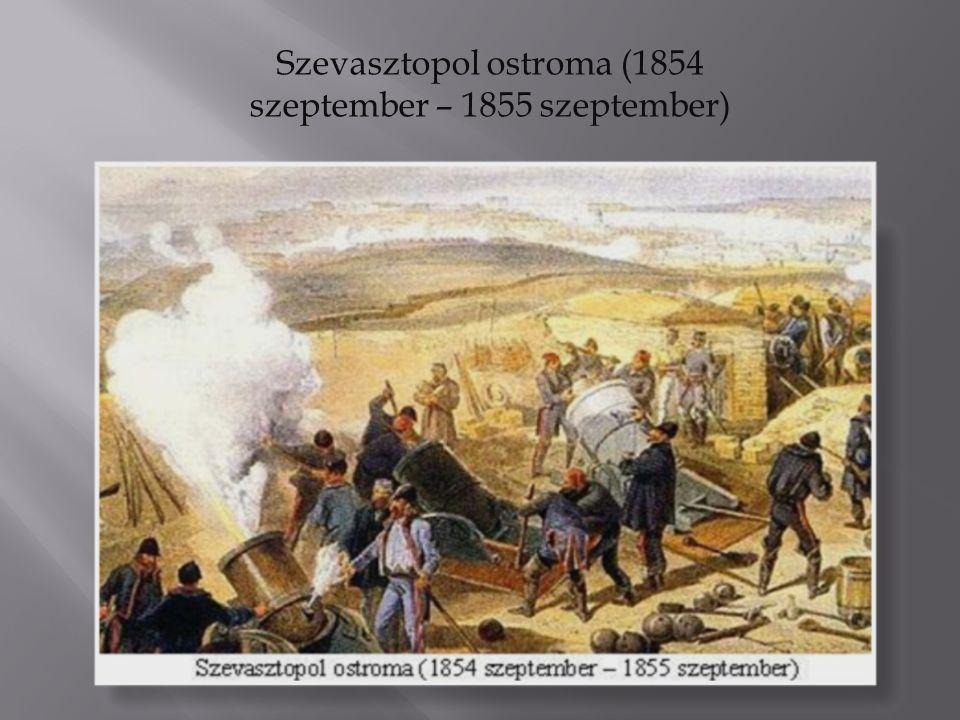 Szevasztopol ostroma (1854 szeptember – 1855 szeptember)