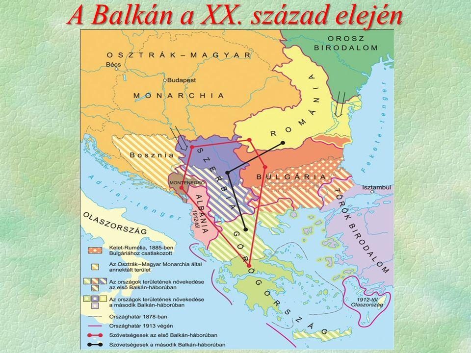 A Balkán a XX. század elején