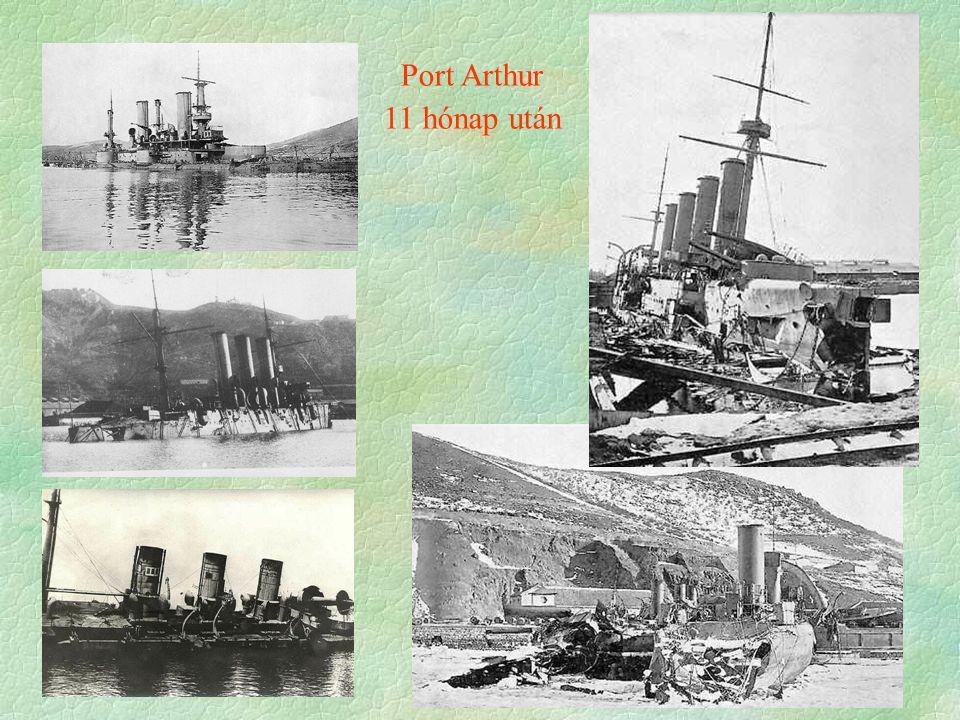 Port Arthur 11 hónap után