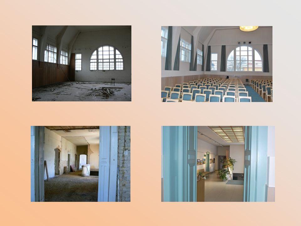 Emellett telephelyünk a szintén felújított Művelődési Ház, mely a helyi civil és nyugdíjas szervezetek központja lett.